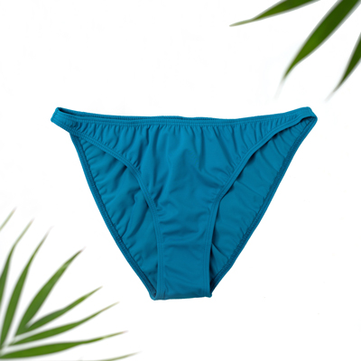 teal swim bottoms