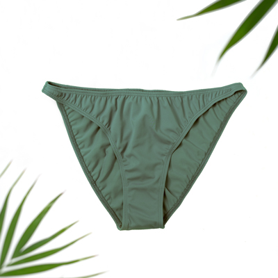 olive swim bottoms