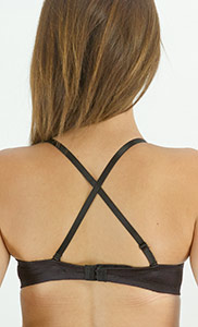 Upbra bra straps can be converted to fit most any outfit