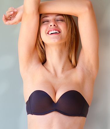 Upbra Miraculous Stay-Up Strapless Bra