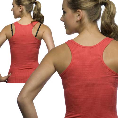5d5a7deb5f Wear a regular strap bra with a halter top or racer-back shirt.